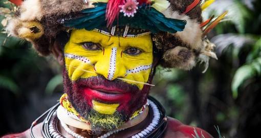 mann papua neuguinea