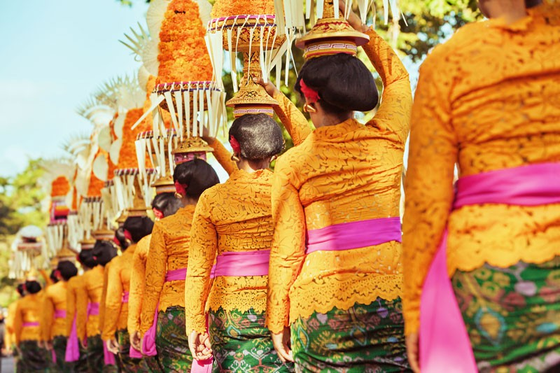 kultur bali, indonesien